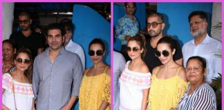 Photos – Arbaaz Khan catches up with Malaika Arora and family for Sunday brunch