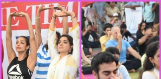 Malaika Arora and Arbaaz Khan come together for International Yoga Day – Photos