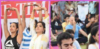 Malaika Arora and Arbaaz Khan come together for International Yoga Day – Photos