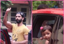 PHOTOS – Misha Kapoor accompanies daddy Shahid Kapoor to the gym!