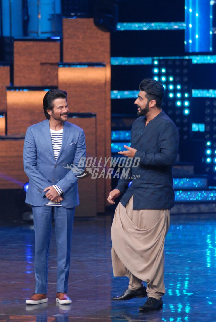 Mubarakan cast on Nach Baliye 8