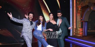 Mubarakan cast has fun on the sets of Sabse Bada Kalakar
