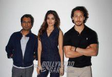 Tiger Shroff, Nawazuddi Siddiqui, Nidhhi Agerwal promote Munna Michael on Fever 104 – Photos