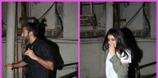 Amitabh Bachchan's granddaughter Navya Naveli Nanda photographed at the movies with a mystery man