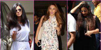 PHOTOS – Bollywood divas Vidya Balan, Nimrat Kaur, Iulia Vantur snapped post salon session!