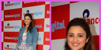 Parineeti Chopra interacts with contest winners at Reliance Digital store