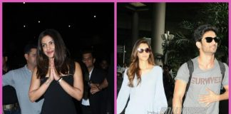 Photos – Sushant Singh Rajput, Kriti Sanon and Priyanka Chopra catch flights at Mumbai airport