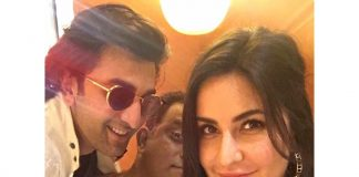 Katrina Kaif shares a selfie with Ranbir Kapoor on Instagram!