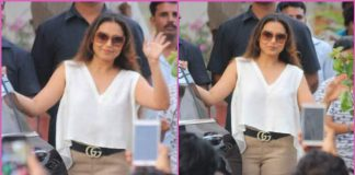Rani Mukherji wraps up shoot of comeback film, Hichki – Photos