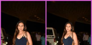 Photos – Rani Mukherji jets off to Dubai after hectic Hichki shooting schedule