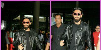 Ranveer Singh returns to Mumbai after holidaying in Europe