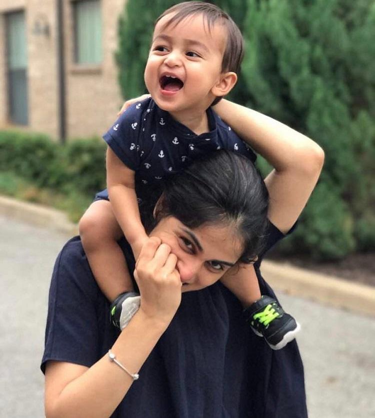 Riteish Deshmukh and Genelia D'souza celebrate their son ...