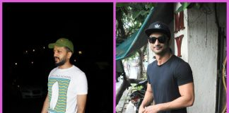 Riteish Deshmukh and Sushant Singh Rajput spend an evening off work