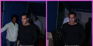 Salman Khan photographed post Tubelight promotional event