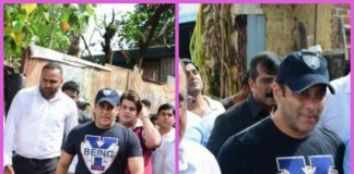 Salman Khan gets mobbed by his fans while promoting Tubelight