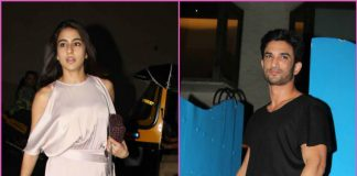Photos – Sara Ali Khan, Sushant Singh Rajput, Abhishek Kapoor discuss Kedarnath over dinner!