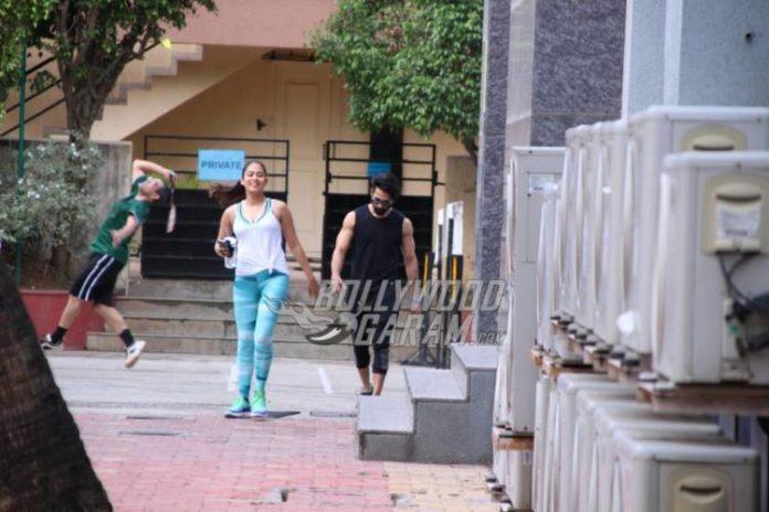 Shahid Kapoor mira Rajput gym3