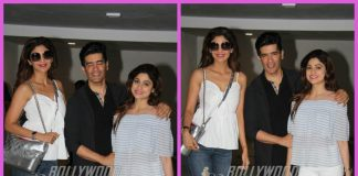 Shilpa Shetty, Shamita Shetty and Sunanda Shetty visit Manish Malhotra