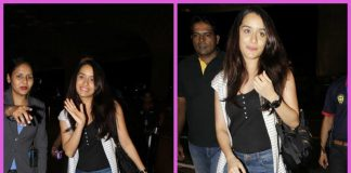 Photos – Shraddha Kapoor takes off for Italy with close friend Eshanka Wahi