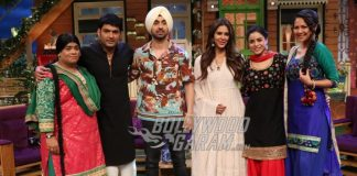 Diljit Dosanjh and Sonam Bajwa promote Super Singh on the sets of The Kapil Sharma Show
