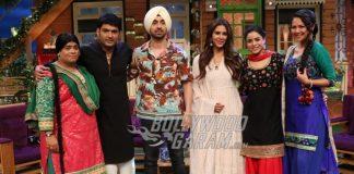 Diljit Dosanjh and Sonam Bajwa promote Super Singh on the sets of The Kapil Sharma Show