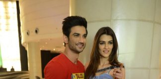 Kriti Sanon and Sushant Singh Rajput promote Raabta in Delhi – Photos!