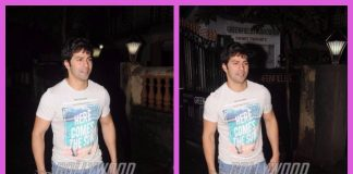 Varun Dhawan takes a late night stroll amid shooting for Judwaa 2