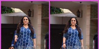 Celebrity Street Style Photos – Vidya Balan makes a blue splash in Mumbai!