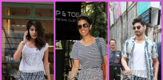 Rhea Chakraborty, Nimrat Kaur and Ahaan Shetty enjoy their free time in Mumbai