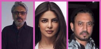 Priyanka Chopra and Irrfan Khan confirmed for Bhansali's Gustakhiyan!