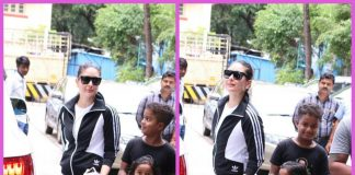 Photos – Kareena Kapoor Khan poses with fans outside the gym