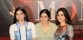 Sridevi releases official MOM trailer with daughters Jhanvi and Khushi – Photos and Video