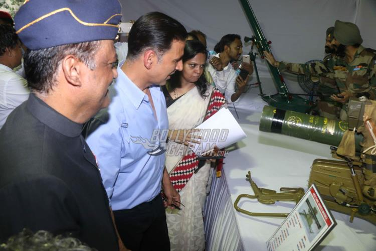 Akshay Kumar at Kargil Vijay Diwas in Mumbai