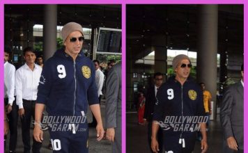 Airport fashion photos – Akshay Kumar returns from London after shooting Gold