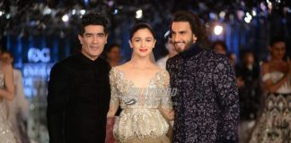 Alia Bhatt and Ranveer Singh turn showstoppers for Manish Malhotra at India Couture Week