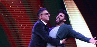 Photos – Arjun Kapoor has fun on Sabse Bada Kalakar grand finale, promotes Mubarakan!