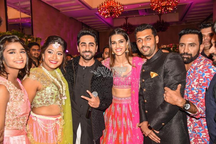 Shocking! Ayushmann Khurrana and Kriti Sanon gate-crashed a wedding