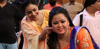 TKSS team celebrates Bharti Singh's birthday with Indian Hockey Team members – Photos