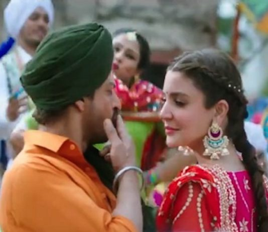 Video – Butterfly Ban Ke song teaser starring SRK & Anushka Sharma from JHMS released!