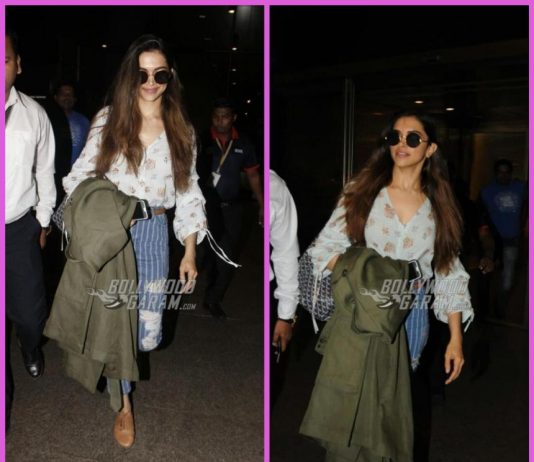 Deepika Padukone makes a stylish appearance at the airport