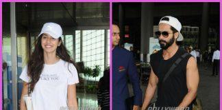 Celebrity airport fashion photos – Shahid Kapoor, Disha Patani make a fresh splash!