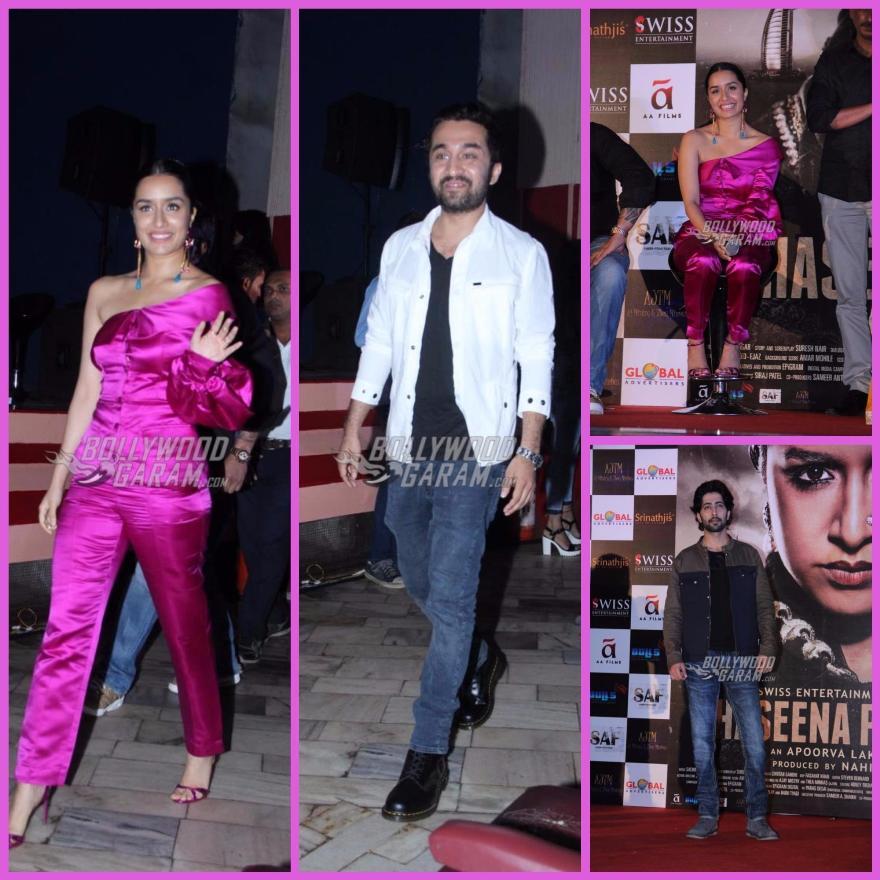Shraddha Kapoor releases 'Haseena Parkar' trailer, but Twitterati sees terror!