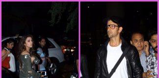 Celebrity airport fashion photos – Hrithik Roshan & Parineeti Chopra rock at Mumbai airport!