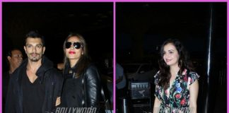 Bipasha Basu, Karan Singh Grover and Dia Mirza make a stylish appearance at the airport