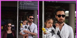 Imran Khan, Avantika and Imara make the perfect family picture at the airport!