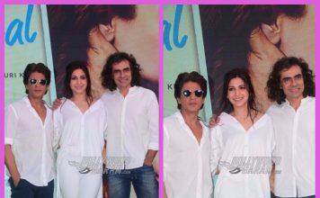 Anushka Sharma, Shah Rukh Khan and Imtiaz Ali  promote Jab Harry Met Sejal