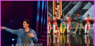Shah Rukh Khan and Imtiaz Ali  promote Jab Harry Met Sejal on the sets of Dance Plus