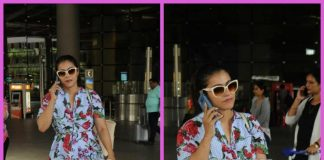 Kajol is summer fashion goals at Mumbai airport