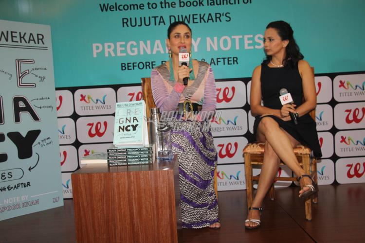 Kareena Kapoor Khan launches Pregnancy Notes