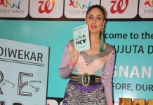 Video – Kareena Kapoor launches Rujuta Diwekar's book, Pregnancy Notes: Before, During and After